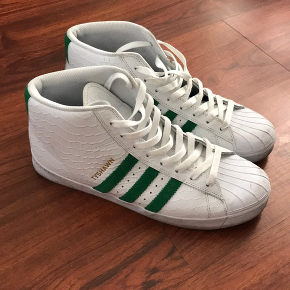 new concept e0731 8e719 adidas Other - ADIDAS superstar hi top skate, used, size 11